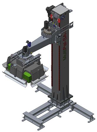 Schwenkarmpalettierer MultiPal-SA-3A